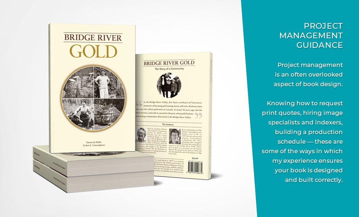 Sanserofin Book Cover Design Portfolio - Bridge River Gold